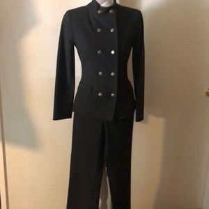 BeBe Military Style black suit